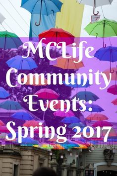 MCLife Community Events: Spring 2017 |
