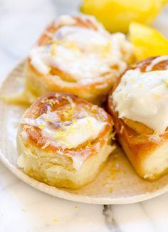Recipe: Sticky Lemon Rolls with Lemon Cream Cheese Glaze