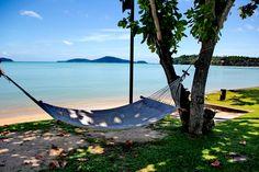 Relax on the Hammocks at The Vijitt Resort! #thevijittresort #phuket #thailand #hammocks #beach