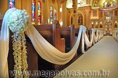Solteiras-Noivas-Casadas: Decoração do Casamento: Igreja