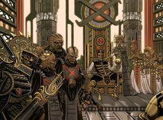 House of Nexsa by Wayne Parker | Sci-Fi | 2D | CGSociety