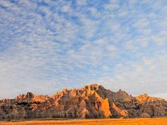 Badlands National Park in South Dakota.  It is beautiful here with a lot to do and see.