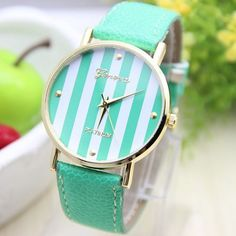 Cheap leather quartz watch, Buy Quality watch stainless directly from China leather watch band Suppliers: 12 colors New Fashion Leather GENEVA Watch For Ladies Women Dress Watch Quartz Watches bra Cute Watches, Cheap Watches, Elegant Watches, Women's Watches, Casual Watches, Vintage Watches, Jewelry Accessories, Fashion Accessories, Women's Dress Watches