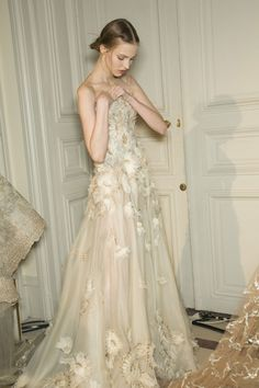 Valentino Couture Spring 2013 Backstage