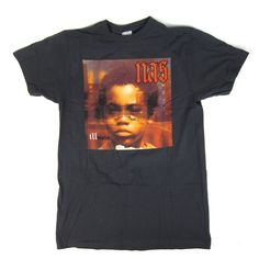 Whose World Is This? Cover art to Nas' 1994 debut masterpiece Illmatic gets the shirt treatment. 100% cotton, standard fit. - 100% cotton - standard fit - officially licensed