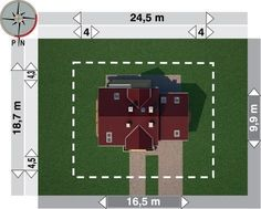 Sytuacja AN TURKUS CE M 4, 2nd Floor, Flooring, Holiday Decor, Home Decor, House, House 2, American Houses, Decoration Home