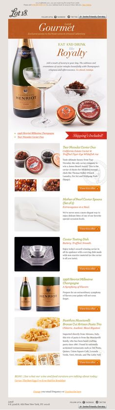 HTML Email Designs | A Gallery of Beautiful Email Design