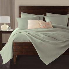 #trendy An all over braided rope look in multiple color #options to fit any room decor. Matching shams #sold separately.