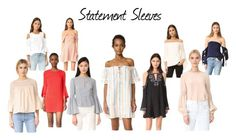 """""""Spring Trend '17: Statement Sleeves"""" by redress on Polyvore featuring Milly, Keepsake the Label, J.O.A., endless rose, Wayf, ISLA_CO, TIBI and Parker"""