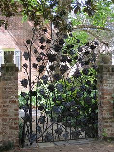 Fancy Gate in Savanah by joleta, via Flickr