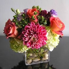 Ornamental floral arrangement