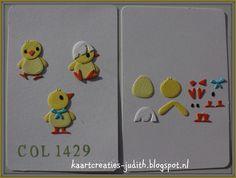 Chicken Family (2) Col1429 - Marianne Design