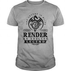 I Love  RENDER AN ENDLESS LEGEND T-SHIRT T-Shirts
