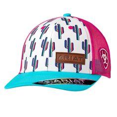 Ariat Cactus Ball Cap - Lazy B General Store Country Hats, Country Outfits, Country Girls, Country Style, Western Hats, Western Wear, Cowboy Hats, Western Style, Western Outfits Women