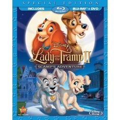 Lady and the Tramp 2: Scamps Adventure  (Two-Disc Blu-ray/DVD Special Edition in Blu-ray Packaging) (Walt Disney)
