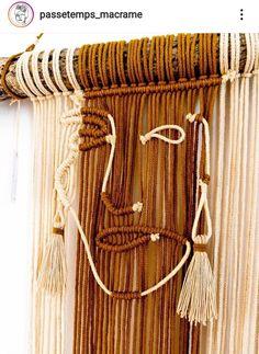 Macrame Wall Hanging Diy, Macrame Curtain, Macrame Art, Macrame Knots, Crochet Birds, Micro Macramé, Macrame Design, Macrame Tutorial, Macrame Patterns