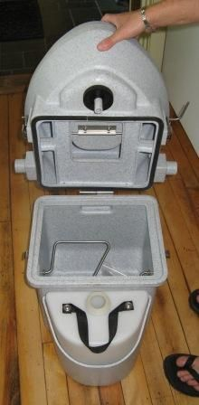 Used But Perfect Nature Head Compost Toilets