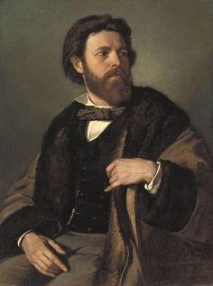 Anselm Feuerbach - Julius Allgeyer 1857