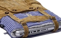 Lederhosen Macbook Case