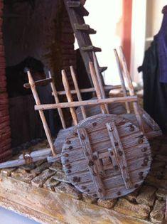 2012-08-03 19.17.10 Wooden Wagon, Building Furniture, Geek Crafts, Miniature Crafts, Wagon Wheel, Backyard Projects, Wheelbarrow, Miniture Things, Firewood