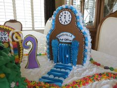 Whoville Village Gingerbread House