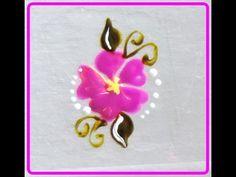 #16 DIY: Florzinha delicada! vem assistir, é super fácil! Por Vanessa Carneiro - YouTube