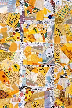 Sylvia Einstein.  Love yellow quilts.