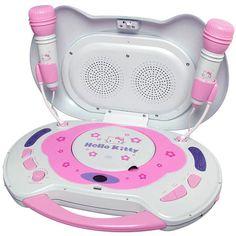Hello Kitty CD Karaoke System