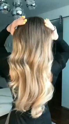 Hairdo For Long Hair, Easy Hairstyles For Long Hair, Girl Hairstyles, Hairstyle Ideas, Cute Simple Hairstyles, Simple Homecoming Hairstyles, Long Blonde Hairstyles, Hair Updo, Long Hair Cuts