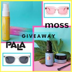 HUGE GIVEAWAY FEATURING TWO ETHICAL SUPERSTAR BRANDS: MOSS SKINCARE AND PALA EYEWEAR.  One lucky winner will receive an « ethical summer kit », which features - a pair of sunglasses of their choice from Pala eyewear. - the sun protective line from Moss skincare, namely - Ambar Primer - Lumi oil - Halo Photoprotective Soothing Essence Powder.  Total value: $300/approx. EUR 250! OPEN INTERNATIONALLY