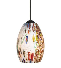 LBL Lighting Monty 1 Light Low-Voltage Mini Pendant in Bronze HS338OPBZ1B50MRL