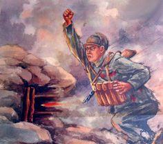A Chinese Volunteer trooper