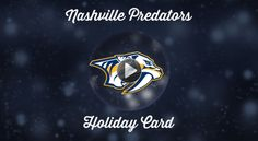 Happy Holidays from your @Predators! Watch the video now and don't miss out on the Gold Friday Special!