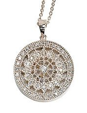 Jewelry & Accessories | Necklaces | Pave Diamond Pendant Necklace | Lord and Taylor