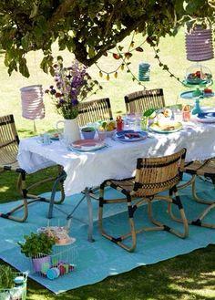Outdoor diningroom