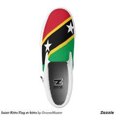 76217a583 Saint-Kitts Flag st-kitts Slip-On Sneakers Pink Sneakers