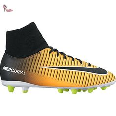watch ad2e6 597de NIKE Jr Mercurial victry 6 DF agpro - Laser Orange Black White V   Amazon.fr  Sports et Loisirs