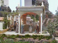 9- Belenes de Navidad Novena Estación La Presentacion en el Templo krouillong comunion en la mano es sacrilegio stop communion in the hand