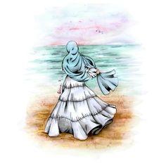 Cute Wallpaper Backgrounds, Cartoon Wallpaper, Cute Wallpapers, Muslim Pictures, Deviantart Drawings, Hijab Drawing, Islamic Cartoon, Anime Muslim, Hijab Cartoon