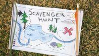 Ideas for a college Scavenger Hunt List