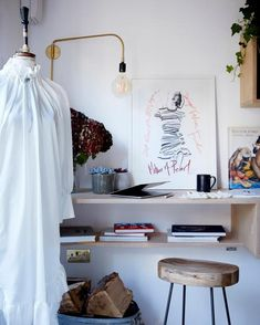 SUNDAY TIMES STYLE feature Creative Director Amy Powney's newly refurbished London home. Photography Paul Massey #sundaytimesstyle #amypowney #interiors #homeoffice London House, Sustainable Clothing, Contemporary Fashion, Creative Director, Wardrobe Rack, Home Office, Amy, Sunday, Interiors