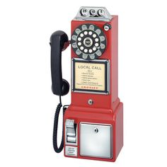 Payphone Red  by Crosley Radio