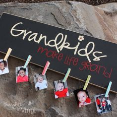 Grandkids photo holder