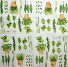 Ubrousky rostliny - herbas - Decoupage, ubrousková technika, dřevěné rámečky, barvy na sklo a textil - Utulnybyt.cz