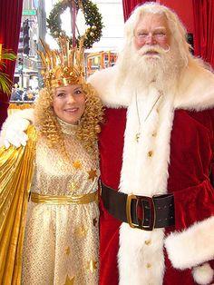Germany - Weihnachtsmann (Santa) with Christkind