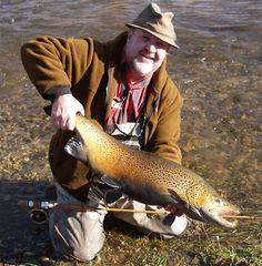 Huge Wisconsin brown trout.