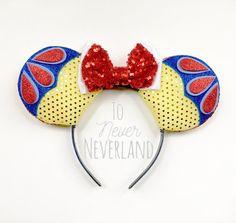 Blanca Disney inspirado en orejas orejas de Mickey blanco