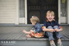 sibling photos - the porch series