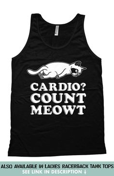 Funny Running Tank Top  For the same design in a Racerback Tank Top: