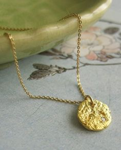 22k Gold and Diamond Necklace